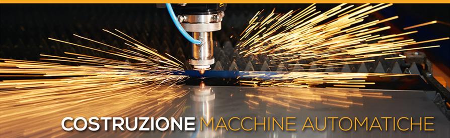 Banner costruzione macchine automatiche